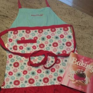 Williams Sonoma American Girl cookbook and apron